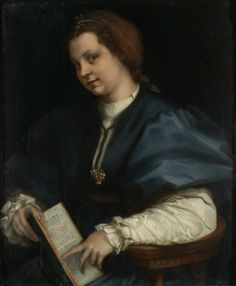WALDA FREY, daughter of Edwyn Frey and Janyce Hunter, the Lady of the Twins  (1528 Andrea del Sarto)