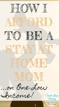 mom life Becoming a stay at home mom can seem impossible. You CAN make it happen! This mom spills all of the ways she cuts costs to be able to afford to be a stay at home mom. I need to try this to see if we can afford to go from two incomes to one. Parenting Humor, Parenting Hacks, Told You So, Just For You, Stay At Home Mom, Gentle Parenting, Living At Home, Frugal Living, All Family