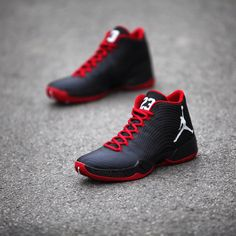 meet 4c6ff cca3d Air Jordan Black White-Gym Red Another Look