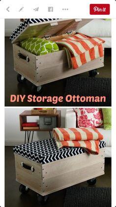IKEA wheeled wood boxes