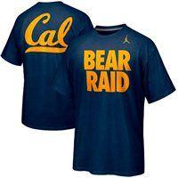 Nike Cal Bears Basketball Bear Raid Campus Roar T-Shirt