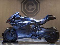 Moto do ROBOCOP__Omnicorp C-1 tem visual de esportiva