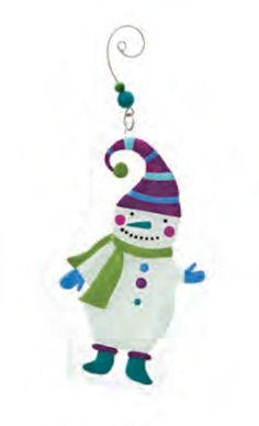 Our glass Snowman Ornament is wearing a purple striped hat, lavender gloves, green scarf and blue green shoes. Glass Christmas Tree Ornaments, Snowman Ornaments, Snowmen, Blue Green, Purple, White Box, Green Shoes, Tree Decorations, Mosaic