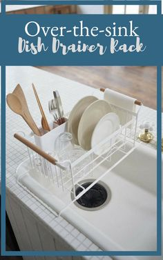 Over-the-sink Dish Drainer Rack  49f5899c3823