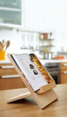 libriset Buchstütze Vielseitig einsetzbar als Kochbuch Bild oder Dekohalter.... Lässt sich einfach zusammenstecken ohne Schrauben und sonstiges und #furnituredesigns