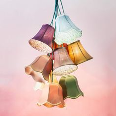 Buy KARE Saloon Flower - colourful hanging light at Lights. Luminaire Sur Rail, Spot Luminaire, Luminaire Led, Outdoor Decorative Lights, Outdoor Ceiling Lights, Eclectic Floor Lamps, Commercial Christmas Lights, Tree Curtains