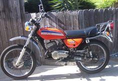 1974 Suzuki : TC125 Prospector Dual Sport Enduro
