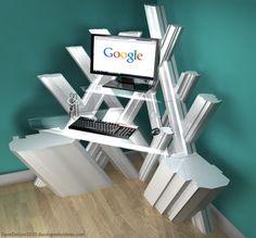 Fortress of Solitude Desk