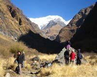 Trail between Deurali and Machhapuchre Base camp... http://www.nepalmotherhousetreks.com/annapurna-base-camp-trekking.html