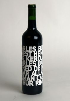 PACKAGING | UQAM: bouteilles #vino #wine #winelovers