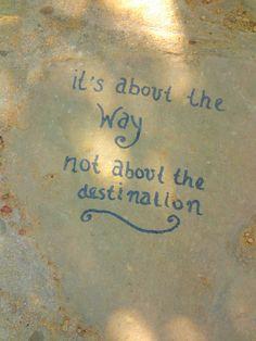 Written on a stone #CaminodeSantiago #Spain
