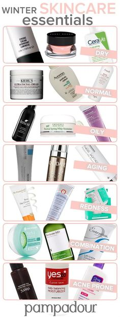 No matter your skincare concern, we have the products you NEED this winter! http://blog.pampadour.com/winter-beauty-101/