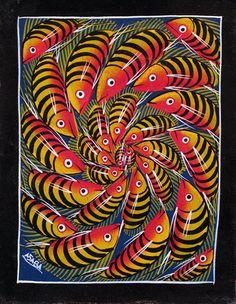 Indigo Arts Gallery   Art from Africa   Tinga Tinga Paintings from Tanzania