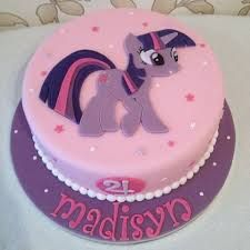 Image result for twilight sparkle pony cake