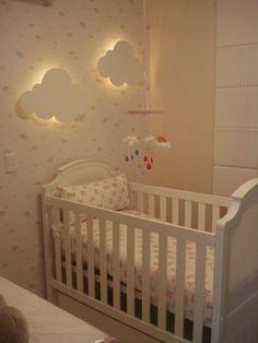 Nuvens na decoração dos quartos infantis!! - Jeito de Casa