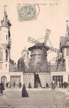 Moulin Rouge en 1900