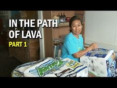 In The Path of Lava, Part 1: Pahoa Families Pack Up - YouTube