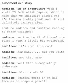 HAMILTON WROTE... THE OTHER FIFTY-ONE!!!