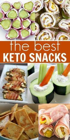 We have the best keto snacks to help you stay on track with the ketogenic diet. These Keto diet snacks are tasty and filling. Even better, the recipes for Ketogenic snacks are simple and easy. Give these Keto friendly snacks a try!