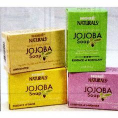 Hobe Naturals Jojoba Bar Soap, Sage, 4-Ounce (Pack of 3) by Hobe Naturals. $14.79. With Organic Jojoba Oil and Bio-Ferm Herbal Complex. Contains no animal fats, artificial colors or preservatives. Gently cleanses and moisturizes. Scented with Sage Essential Oil. Pure Vegetable Glycerin. Hobé Naturals Sage Jojoba Soap gently cleanses while moisturizing with vegetable glycerin, aloe vera and organic jojoba oil. Hobé's exclusive Bio-Ferm™ Herbal Complex provides the esse...