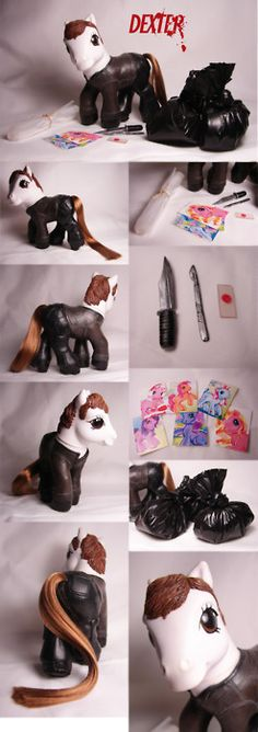 custom my little pony - dexter!!!