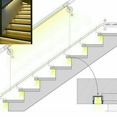 LED cove lighting application options for referenceRisultati immagini per cove lighting detailDiscover thousands of images about Ross MillaneyLighting working drawing for corridors on to floors.How to Install Elegant Cove Lighting - Salvabrani - Salvabran Stairway Lighting, Cove Lighting, Indirect Lighting, Staircase Lighting Ideas, Shower Lighting, Strip Lighting, Interior Stairs, Home Interior Design, Classic Interior