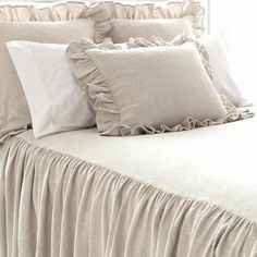 Go au natural with our collection of brown and natural bedding. Shop Pine Cone Hill duvet covers, coverlets, sheets, shams, decorative pillows and more! Pine Cone Hill Bedding, Bliss Home And Design, Bedding Collections, Bed Spreads, Comforter Sets, Luxury Bedding, Decoration, Bed Pillows, Bed Linens