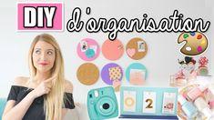 Diy Organisation Bureau, Organization, Disney Diy, School Supplies, Diy Room Decor, Back To School, Lily, Diy Crafts, Make It Yourself