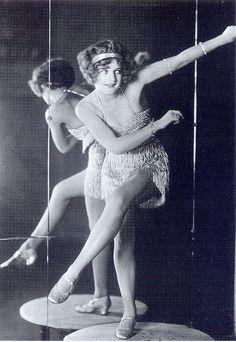 World champion Charleston dancer Bee Jackson, 1920's