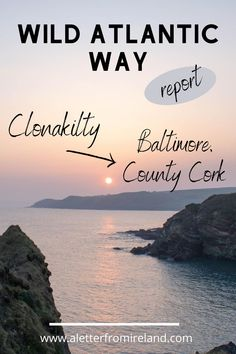 """Leaving the town of Clonakilty on the Wild Atlantic Way, we skirt the coast on a series of small roads heading west. Lots of """"ins and outs"""" as we make our way into what was Barry, Coppinger, O'Donovan and O'Driscoll territory many years ago. *** #travelling #adventure #wildatlanticway #clonakilty #county #cork #ireland #Irish Wild Atlantic Way, County Cork, Cork Ireland, Baltimore, Roads, Travelling, Irish, Adventure, Skirt"""