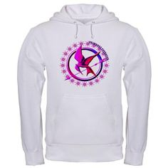 Copyright 2012. Hunger Games Hoodie design for Team Primrose. Check out this design on 117 items on Cafe Press and buy today in your choice of color and design.
