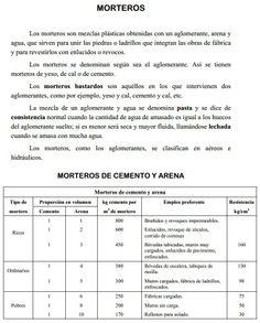 MORTEROS