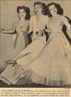 Judy Garland, Mary Martin, and Frances Langford Old Hollywood Stars, Hooray For Hollywood, Golden Age Of Hollywood, Classic Hollywood, Mary Martin, Dorothy Gale, Recent Movies, Golden Star, Judy Garland