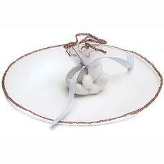 Bonboniere Tulle Circle Favor Metallic Thread