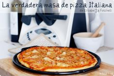 La verdadera masa de pizza Italiana