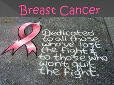 Breast Cancer Awareness Presentation  by RacDokki via slideshare