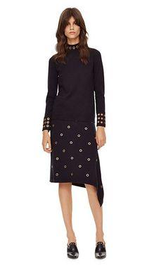 Tory Burch Merino Grommet Long Skirt / 2016 Fall - Winter