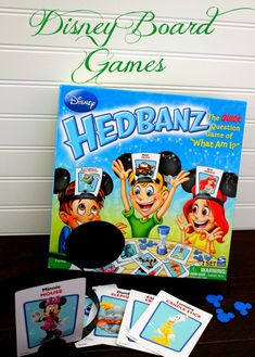 Disney Board Games are a great way to get your Disney fix and create fun family memories while at home or while traveling.
