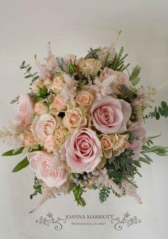 Pale pink Bridal Bouquet.
