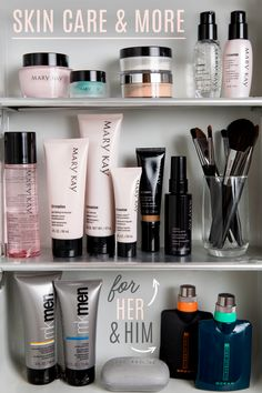 Only the best for you, beauties! We've got makeup and skin care that both women and men love. | Mary Kay