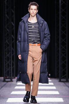 Paul Smith Menswear Fall Winter 2015 Paris. Way cool puffer.