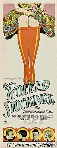 Rolled Stockings poster