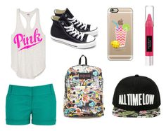 """""""Untitled #279"""" by shinetomlinson10 ❤ liked on Polyvore featuring maurices, Converse, JanSport, Casetify and Beauty Rush"""