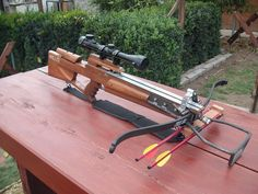Home made crossbow,