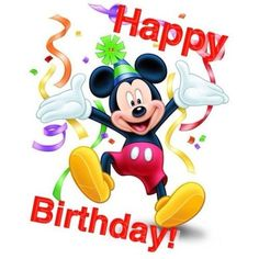 Mickey Mouse Birthday Quotes by El cumpleaños Birthday Greetings For Nephew, Free Happy Birthday Cards, Happy Birthday Kids, Happy Birthday Wishes Cards, Happy Birthday Pictures, Friend Birthday, Disney Happy Birthday Images, Disney Birthday Quotes, Happy Birthday Nephew Quotes