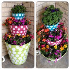 196 Best Flower Pots Images On Pinterest Clay Pot Crafts