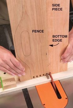 Tablesaw Box Joints - Popular Woodworking Magazine #woodworkinginfographic