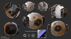 ArtStation - Sci-Fi Drone, Zachary Forrest