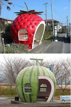 Designs criativos de pontos de ônibus ao redor do mundo!