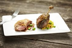 Sous Vide Duck Confit. Copyright © 2012 PolyScience; Photos and Recipes by Joe Strybel